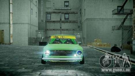 VAZ 2101 pour GTA 4 Vue arrière de la gauche