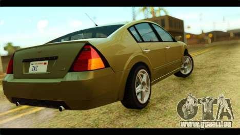 GTA 4 Pinnacle für GTA San Andreas linke Ansicht