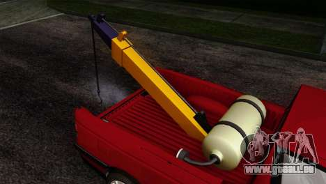 Peugeot 405 Pickup pour GTA San Andreas vue arrière