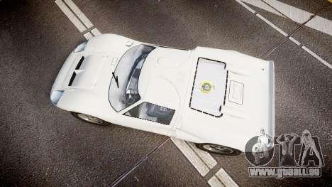Ford GT40 Mk2 1966 pour GTA 4 est un droit