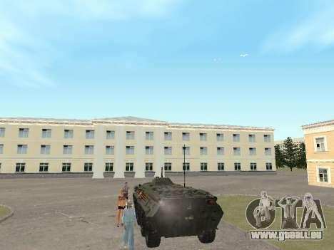 BTR-80 Avant pour GTA San Andreas vue de droite