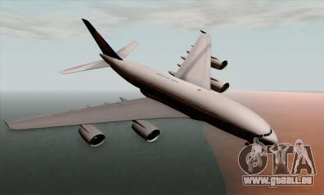 Airbus A380-800 Singapore Airline pour GTA San Andreas