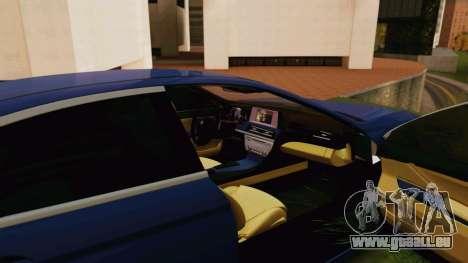 BMW 6 Series Gran Coupe 2014 pour GTA San Andreas vue de droite