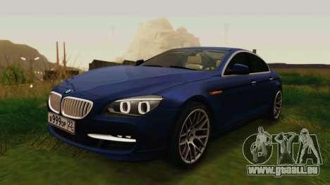 BMW 6 Series Gran Coupe 2014 pour GTA San Andreas