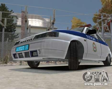 VAZ 2112 DPS für GTA 4 Rückansicht
