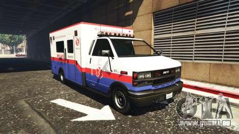 GTA 5 Ambulance v0.7.2 deuxième capture d'écran
