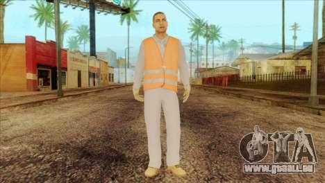 Takedown Redsabre NPC Shipworker v2 für GTA San Andreas