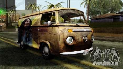 Volkswagen T2 Bob Marley für GTA San Andreas