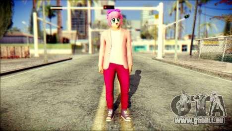 Skin Kawaiis GTA V Online v2 für GTA San Andreas
