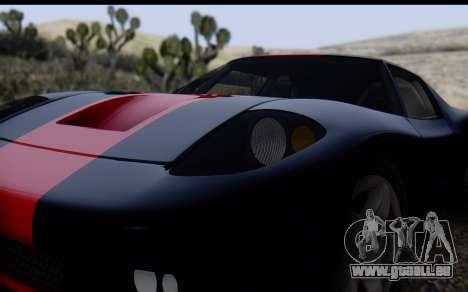 Bullet PFR v1.1 HD pour GTA San Andreas vue de côté