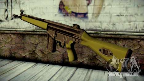 HK G3 Normal pour GTA San Andreas deuxième écran