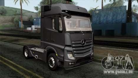 Mercedes-Benz Actros MP4 Euro 6 IVF pour GTA San Andreas