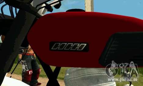 IZH Planeta-4 pour GTA San Andreas vue arrière