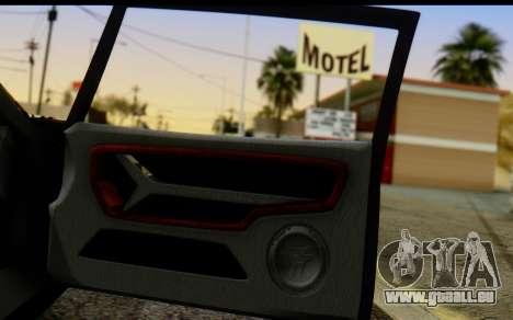 Bullet PFR v1.1 HD pour GTA San Andreas roue