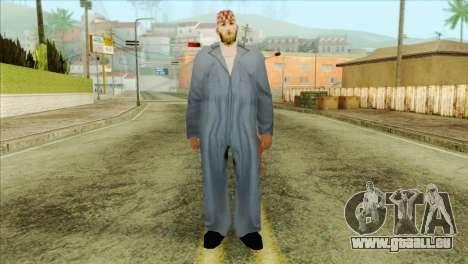 Mécanicien barbu pour GTA San Andreas