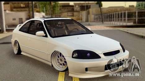 Honda Civic Si Coupe pour GTA San Andreas