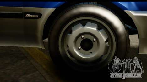 GTA 5 Dinka Blista Compact IVF pour GTA San Andreas vue arrière