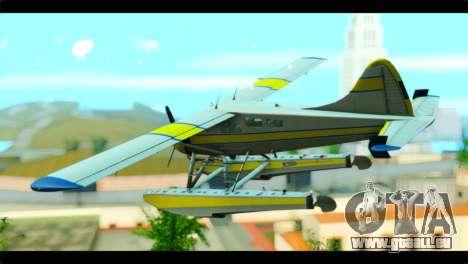 GTA 5 Sea Plane pour GTA San Andreas laissé vue