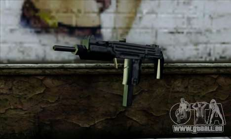 Micro Uzi from LCS für GTA San Andreas