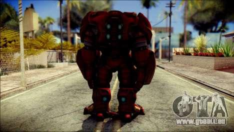 Hulkbuster Iron Man v1 für GTA San Andreas zweiten Screenshot