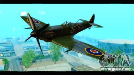 Supermarine Spitfire F MK XVI 318 SQ pour GTA San Andreas