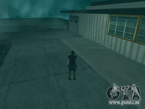 Die Flugbahn der Kugeln für GTA San Andreas zweiten Screenshot