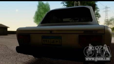 Fiat 128 pour GTA San Andreas vue de droite