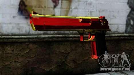 Desert Eagle Spanien für GTA San Andreas