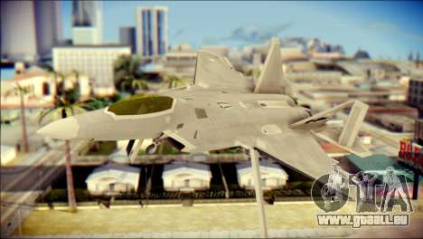 FA-18D Hornet Blue Angels pour GTA San Andreas