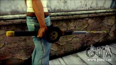 Saber Dice Kamen Rider Beast für GTA San Andreas dritten Screenshot