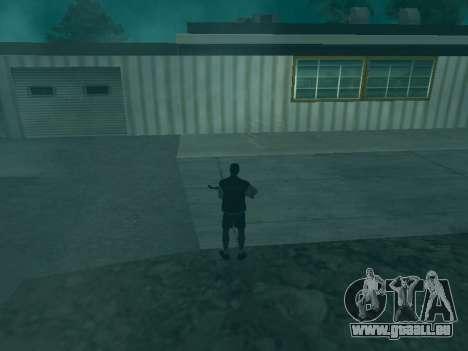 Die Flugbahn der Kugeln für GTA San Andreas dritten Screenshot