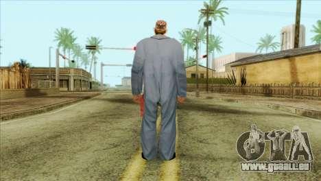 Mécanicien barbu pour GTA San Andreas deuxième écran