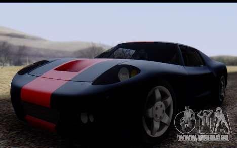Bullet PFR v1.1 HD pour GTA San Andreas laissé vue