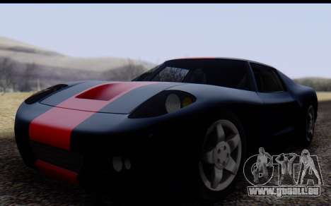 Bullet PFR v1.1 HD für GTA San Andreas linke Ansicht