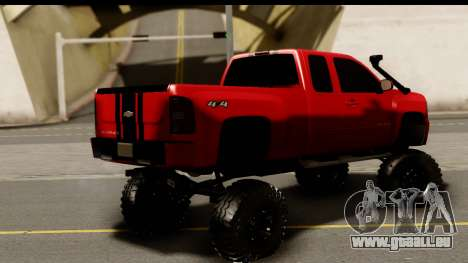 Chevrolet Silverado OffRoad für GTA San Andreas linke Ansicht