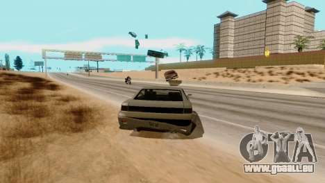 Transport-V2 statt Kugeln für GTA San Andreas