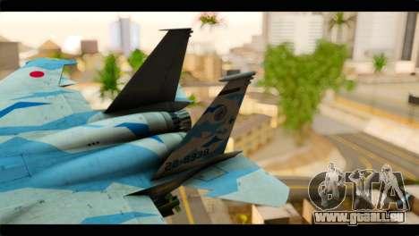 F-15E 303rd TFS Fighting Dragons für GTA San Andreas zurück linke Ansicht