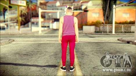 Skin Kawaiis GTA V Online v1 für GTA San Andreas zweiten Screenshot