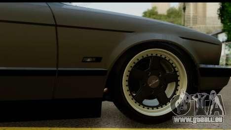 BMW 525i E34 pour GTA San Andreas vue arrière