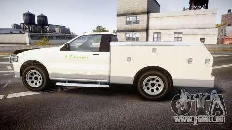 GTA V Vapid Utility Truck für GTA 4 linke Ansicht