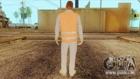 Takedown Redsabre NPC Shipworker v2 pour GTA San Andreas deuxième écran