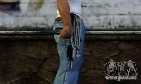 Micro Uzi from LCS pour GTA San Andreas troisième écran