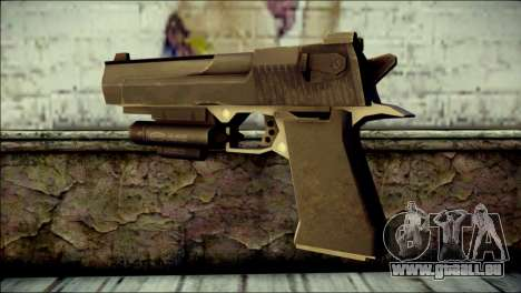 Rumble 6 Desert Eagle für GTA San Andreas zweiten Screenshot