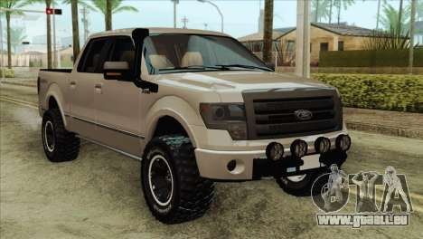 Ford F-150 Platinum 2013 4X4 Offroad pour GTA San Andreas