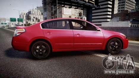 Nissan Altima 3.5 SE pour GTA 4 est une gauche
