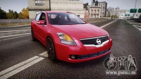 Nissan Altima 3.5 SE pour GTA 4