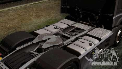Mercedes-Benz Actros MP4 Euro 6 IVF pour GTA San Andreas vue arrière