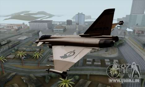 Eurofighter Typhoon 2000 UPEO für GTA San Andreas linke Ansicht