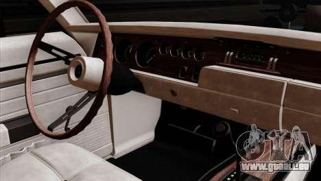 Dodge Charger RT 1970 pour GTA San Andreas vue de droite