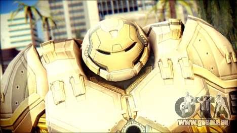 Hulkbuster Iron Man v2 pour GTA San Andreas troisième écran